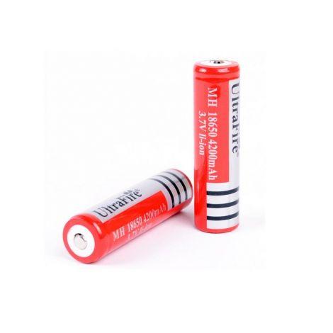 2x Ultrafire 18650 batterijen